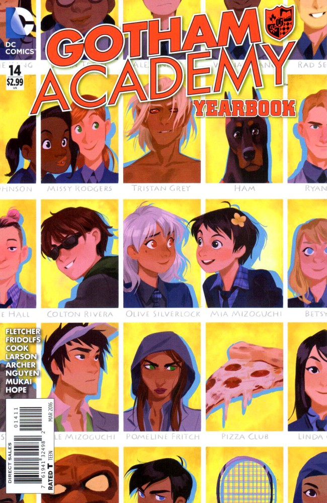 Couverture de Gotham Academy (2014) -14- Yearbook