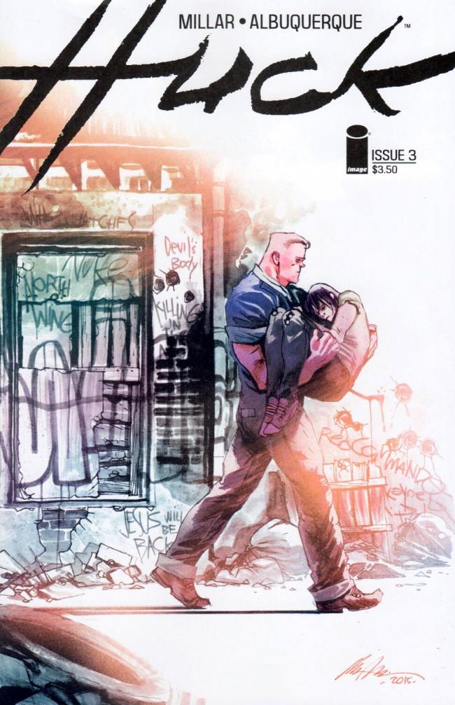 Couverture de Huck (2015) -3- Issue 3