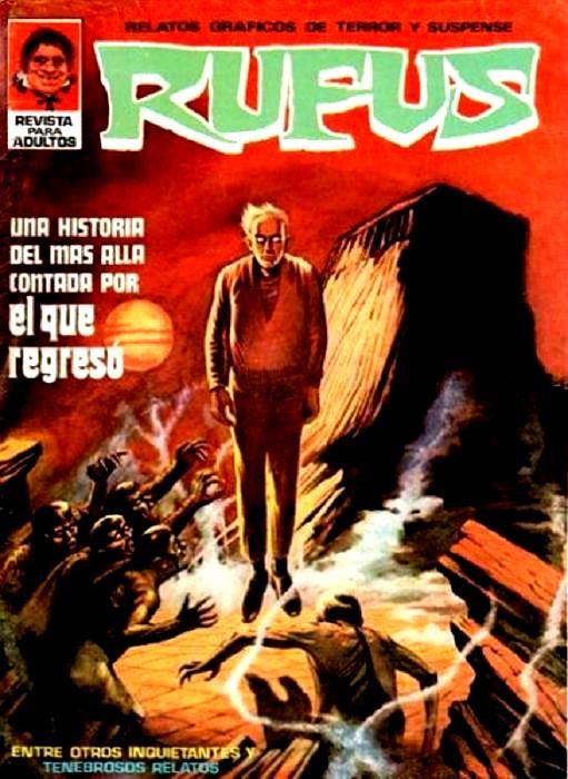 Couverture de Rufus (Eerie en espagnol) -9- El que regresó