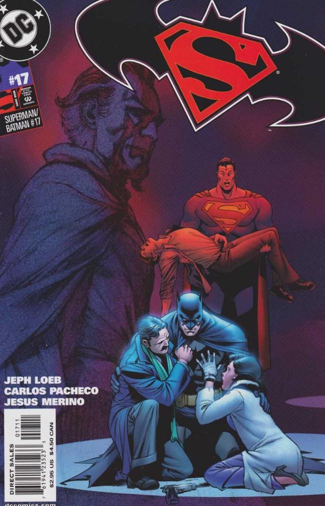 Couverture de Superman/Batman (2003) -17- Absolute Power. Part 4: A World Without Batman