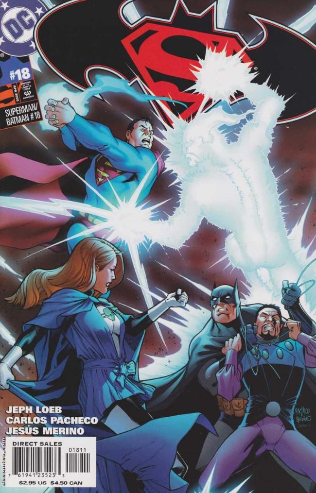 Couverture de Superman/Batman (2003) -18- Absolute Power. Part 5: The Starling Conclusion