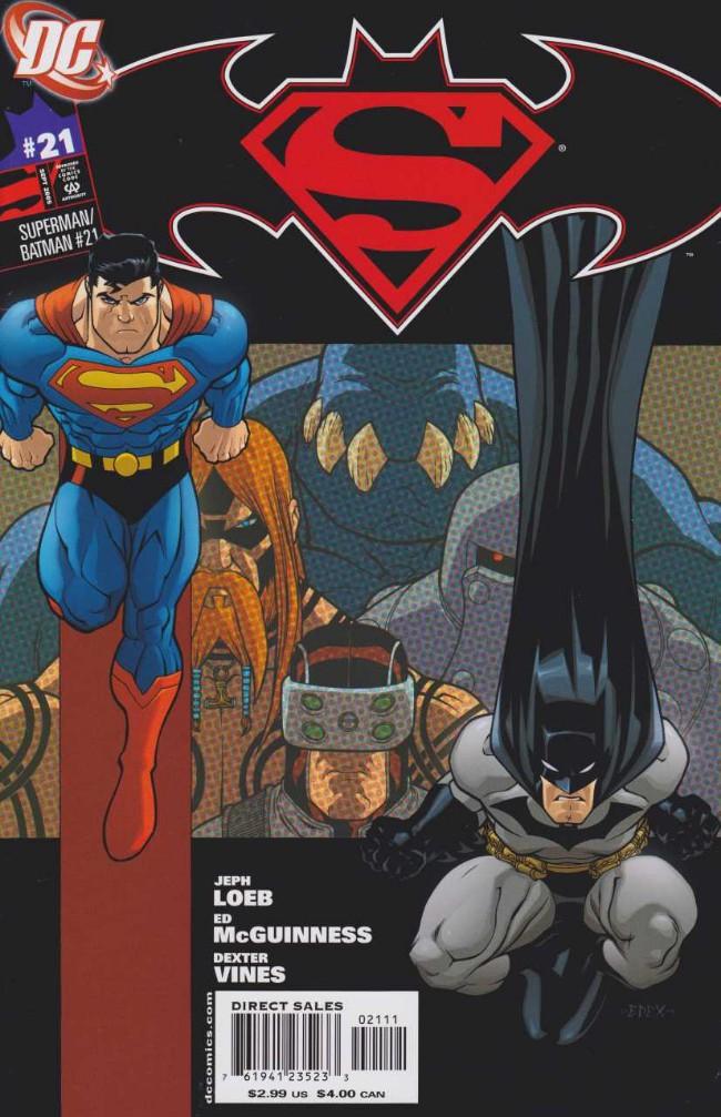 Couverture de Superman/Batman (2003) -21- With a Vengeance!, Chapter Two: Mistaken Identity Crisis