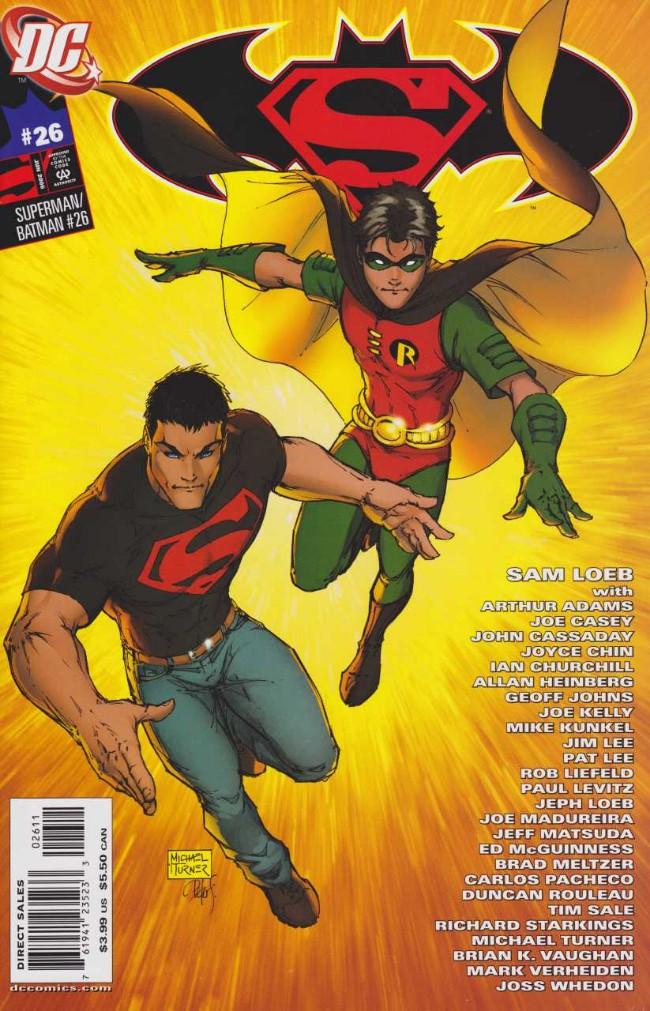 Couverture de Superman/Batman (2003) -26A- The Boys Are Back In Town!