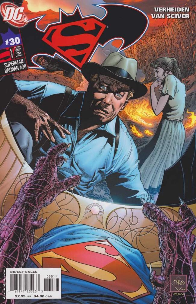 Couverture de Superman/Batman (2003) -30- The Enemies Among Us, Part 3