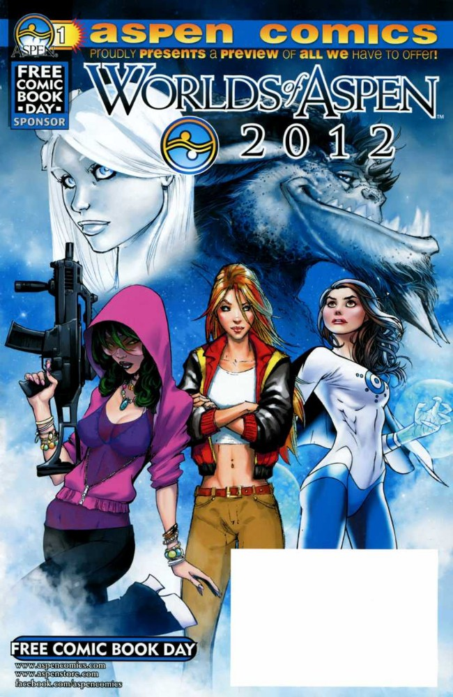 Couverture de Worlds of Aspen (2006) (Free Comic Book Day) -FCBD 2012- Worlds of Aspen 2012