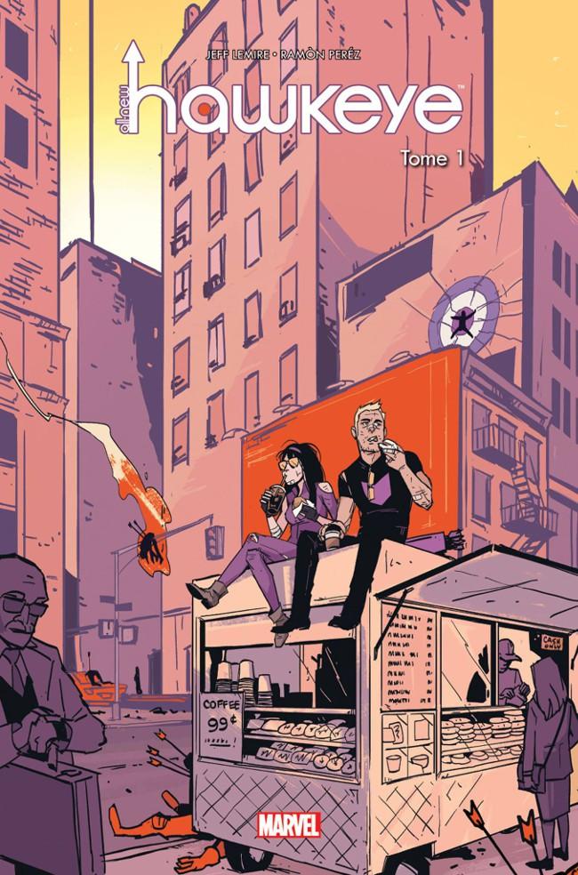 Couverture de All-New Hawkeye (100% Marvel) -1- Wunderkammer