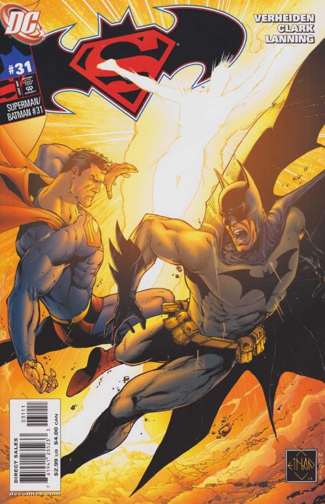 Couverture de Superman/Batman (2003) -31- The Enemies Among Us, Part 4
