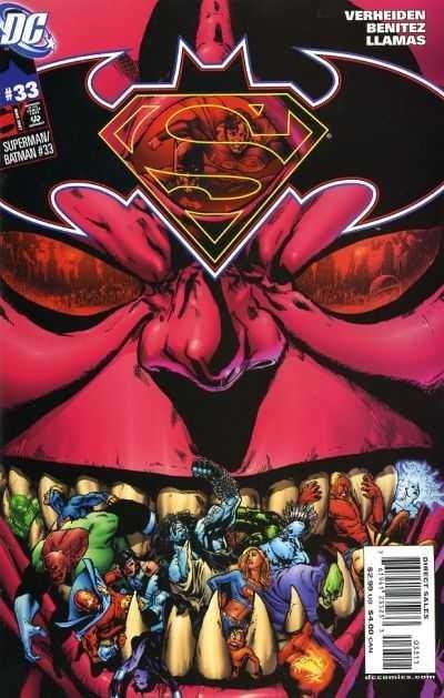 Couverture de Superman/Batman (2003) -33- The Enemies Among Us, Conclusion
