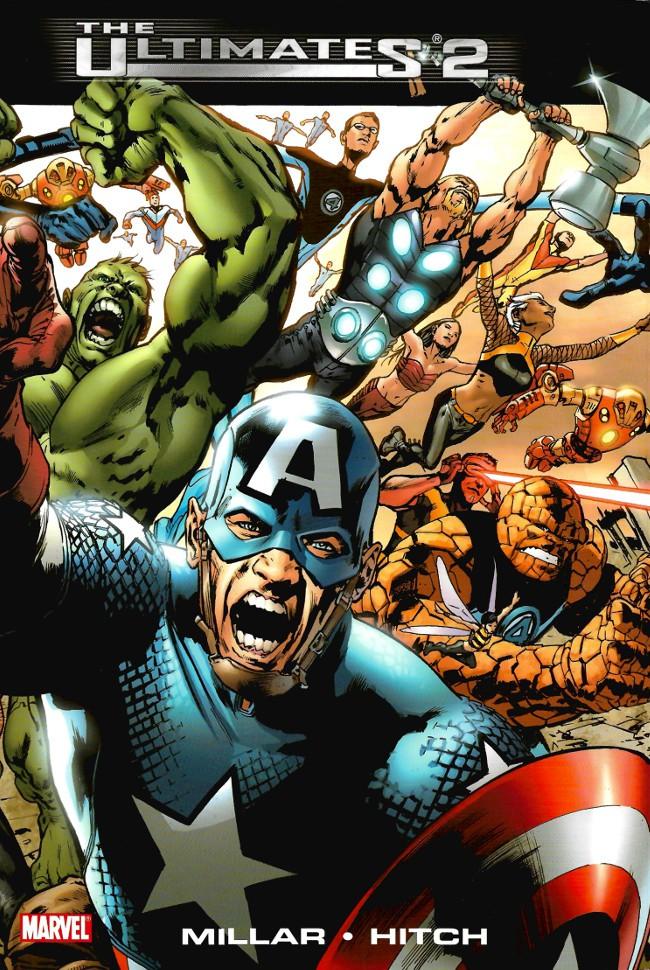 Couverture de The ultimates 2 (Marvel Comics - 2005) -INT2007- Ultimates 2