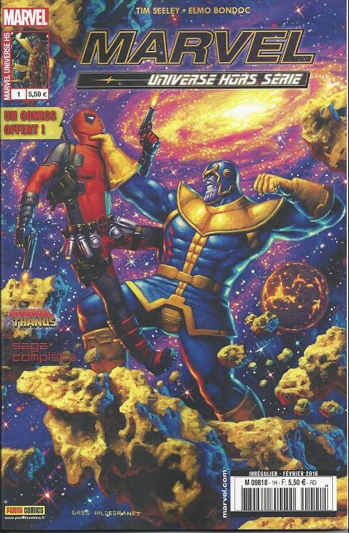 Couverture de Marvel Universe (Panini - 2016) -HS1- Jusqu'à ce que la mort nous sépare