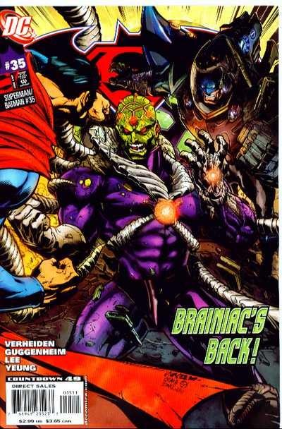 Couverture de Superman/Batman (2003) -35- Metal Men Part 2: B.I.