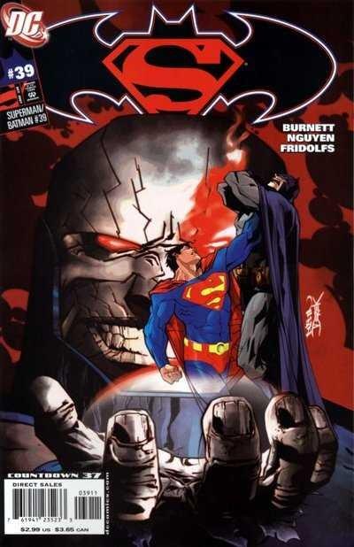 Couverture de Superman/Batman (2003) -39- Torment Part 3: Helpless