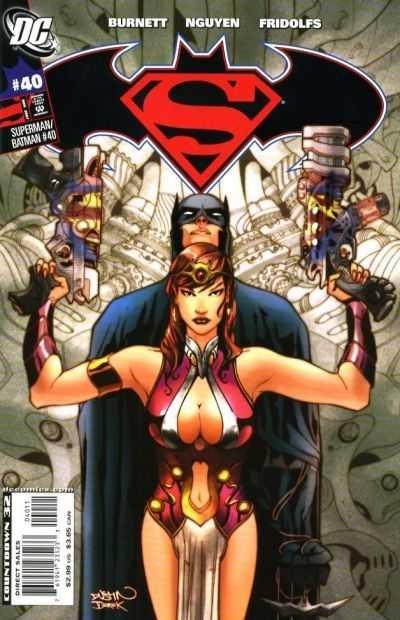 Couverture de Superman/Batman (2003) -40- Torment Part 4: Trapped