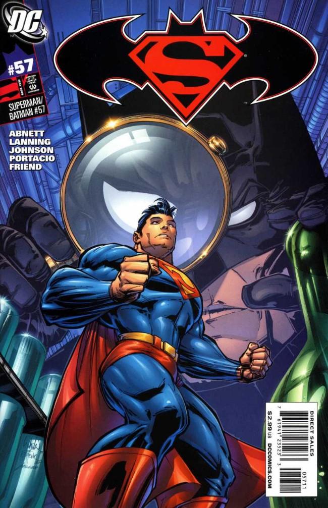 Couverture de Superman/Batman (2003) -57- Nanopolis, Part One
