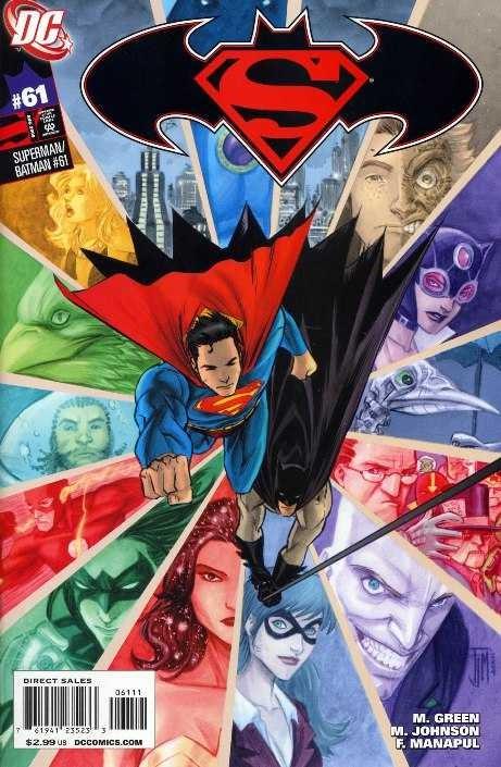 Couverture de Superman/Batman (2003) -61- Mash-Up, Part 2
