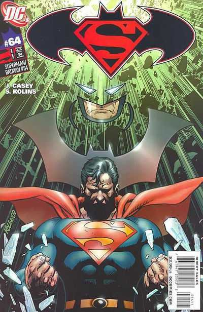 Couverture de Superman/Batman (2003) -64- Prelude to the Big Noise: Three Months Away