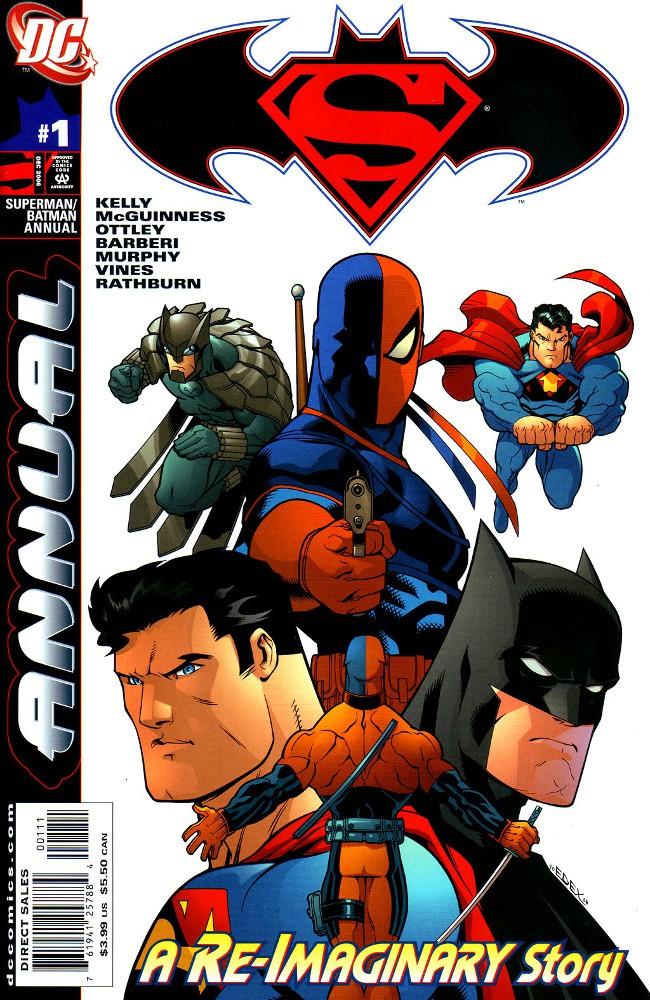 Couverture de Superman/Batman (2003) -AN01- Stop Me If You've Heard This One...