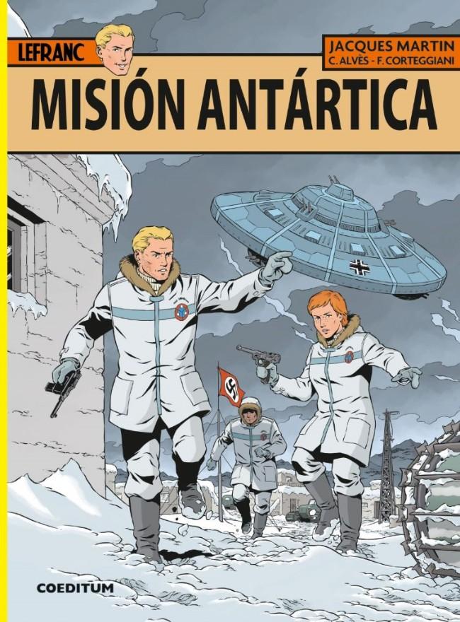 Couverture de Lefranc (en espagnol) -26- Misión Antártica