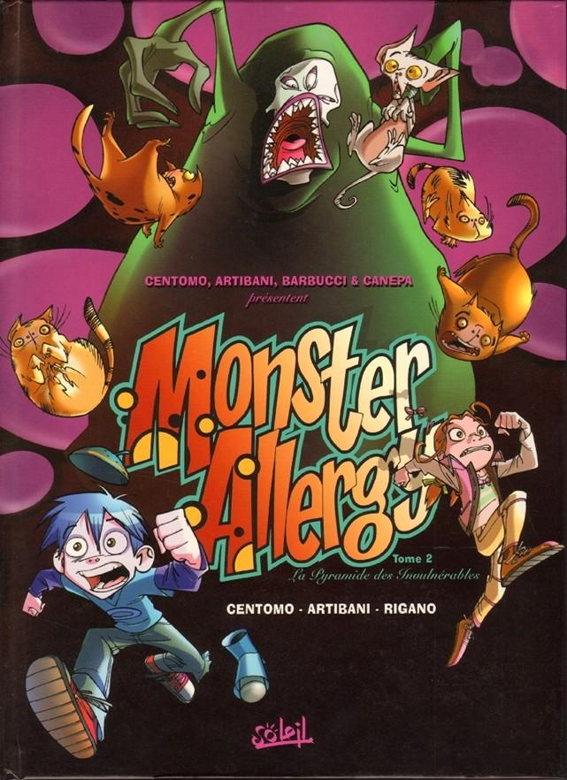 Couverture de Monster Allergy -2- La pyramide des invulnérables