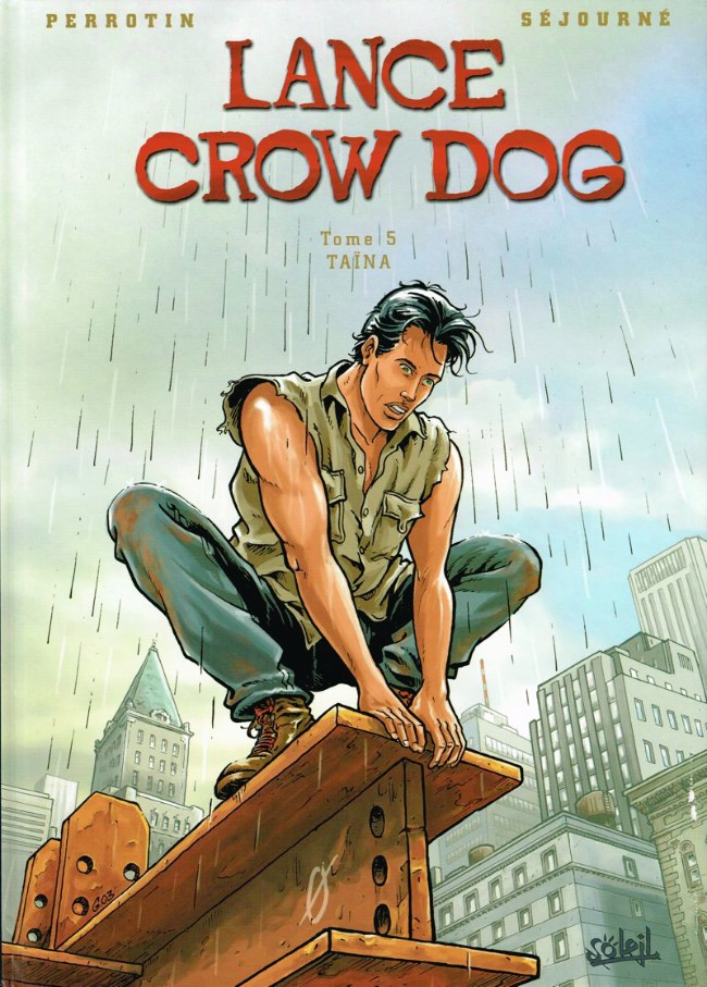 Couverture de Lance Crow Dog -5- Taïna