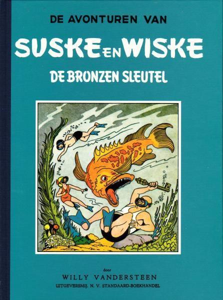 Couverture de Suske en Wiske - De Bronzen Sleutel