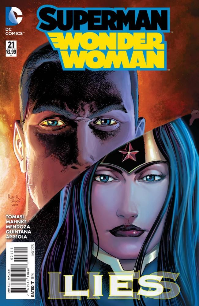 Couverture de Superman/Wonder Woman (2013) -21- Dark Truth, Part Four