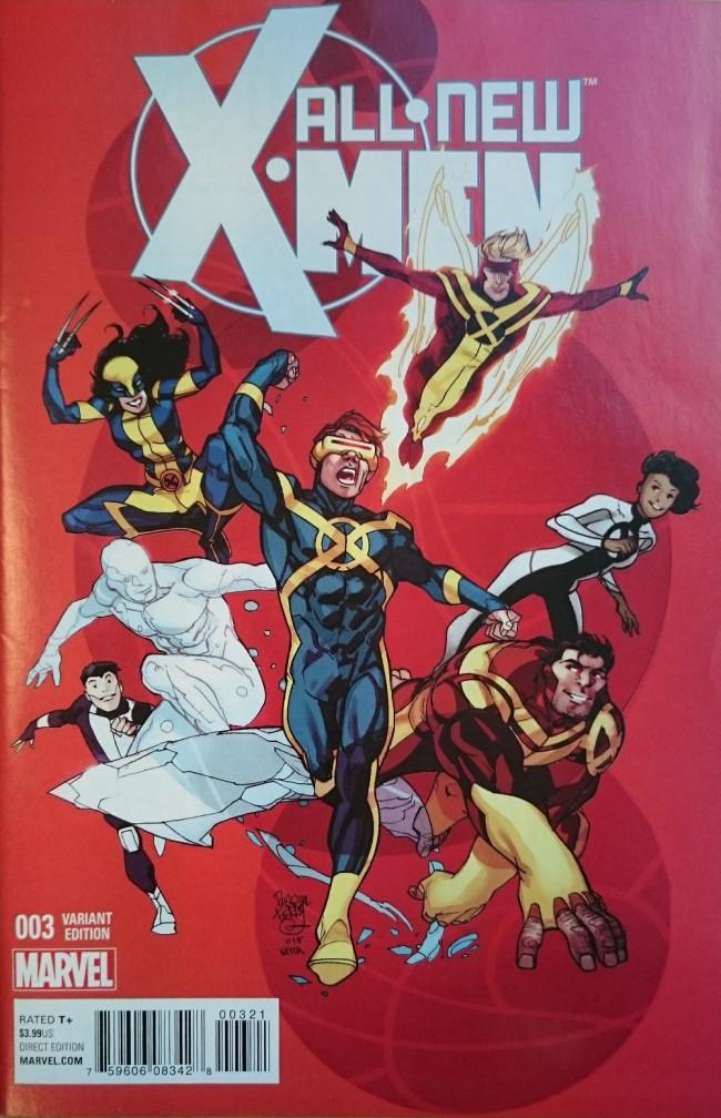 Couverture de All-New X-Men (2016) -3VC- All-New X-men #3