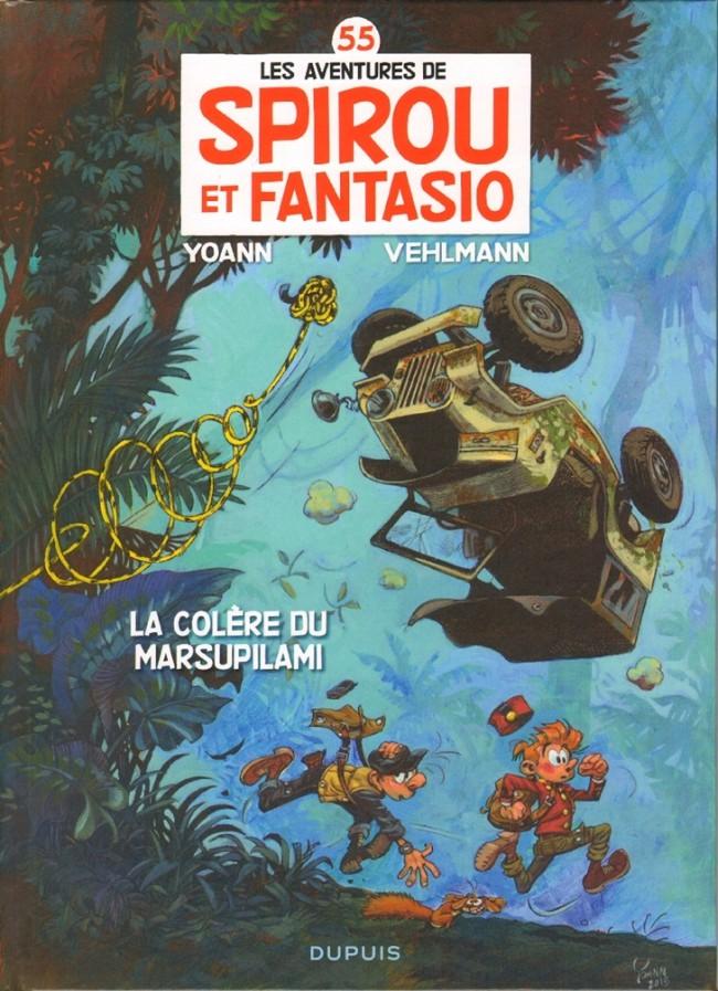 Couverture de Spirou et Fantasio -55- La colère du Marsupilami