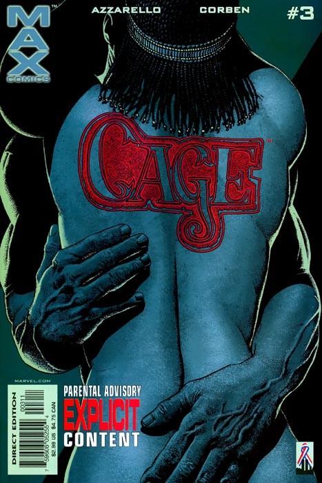 Couverture de Cage Vol. 2 (Marvel MAX - 2002) -3- Cage Part three