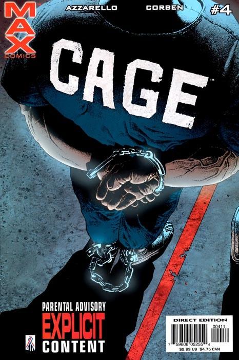 Couverture de Cage Vol. 2 (Marvel MAX - 2002) -4- Cage Part four