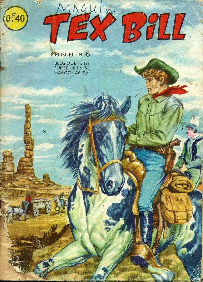 Couverture de Tex Bill -6- On demande un sherif