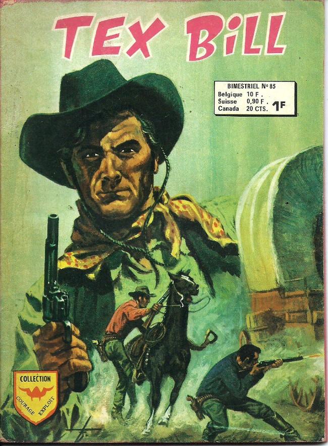 Couverture de Tex Bill -85- Opération Petit Poucet