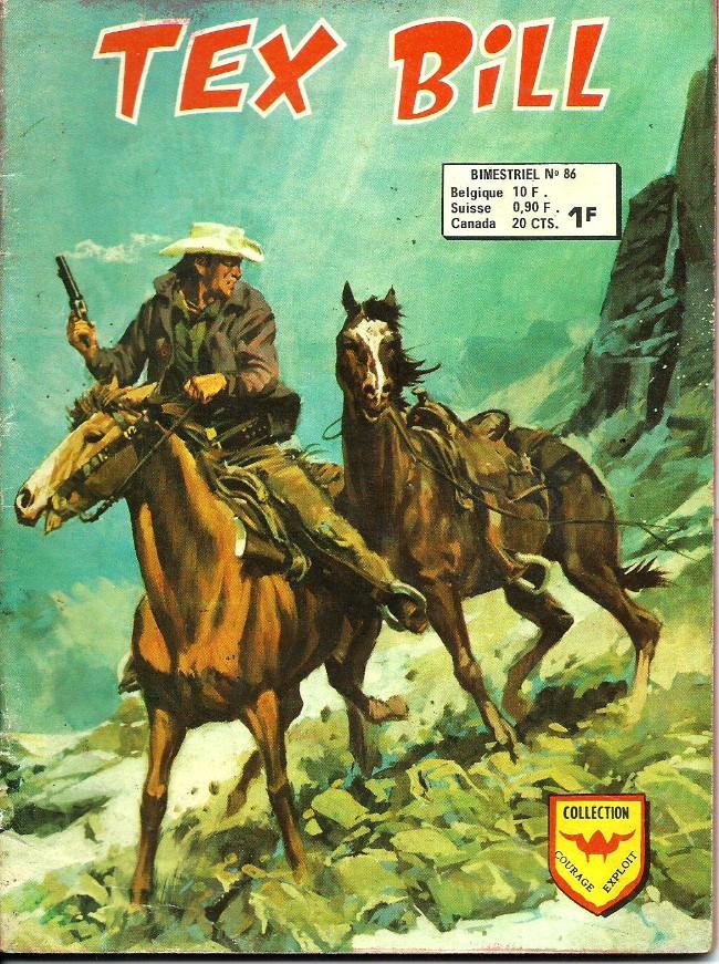Couverture de Tex Bill -86- La piste blanche