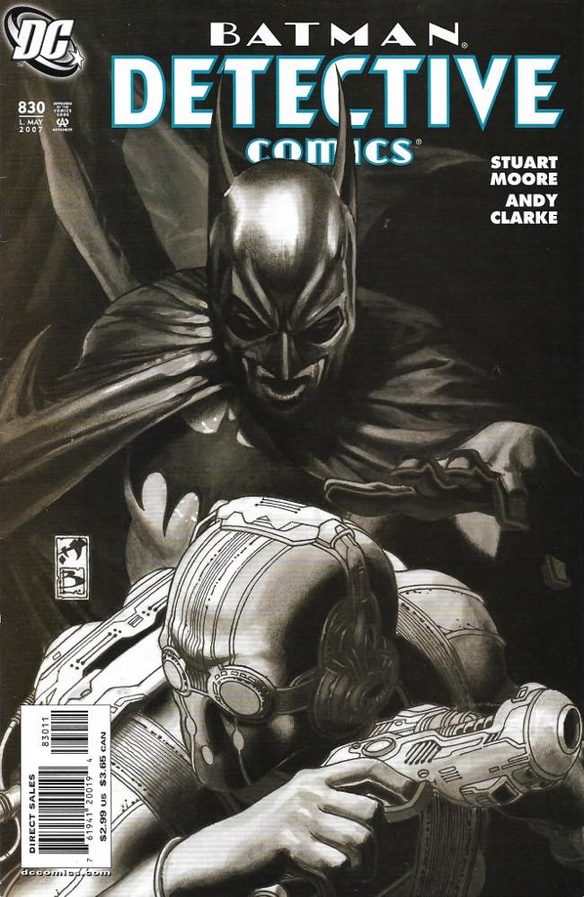 Couverture de Detective Comics Vol 1 (1937) -830- Siege - part two