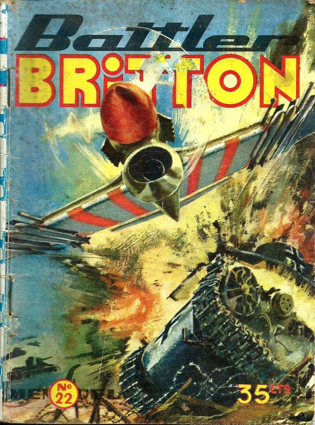 Couverture de Battler Britton -22- Attaque surprise