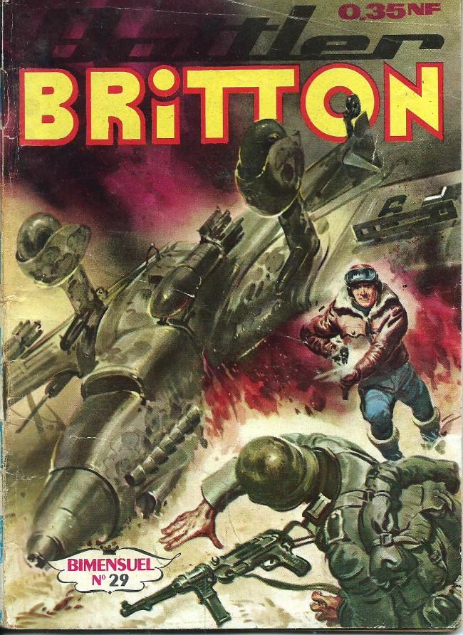 Couverture de Battler Britton -29- Opération atomique...