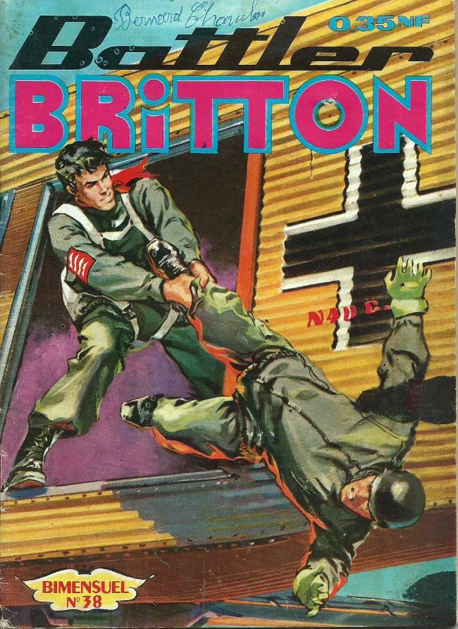 Couverture de Battler Britton -38- Les avions sans pilote