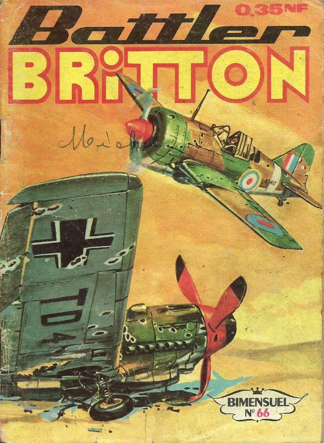 Couverture de Battler Britton (Imperia) -66- Battler Britton en permission