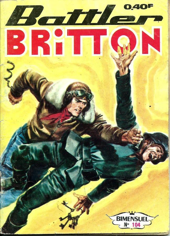 Couverture de Battler Britton (Imperia) -104- Les frères Schmidt