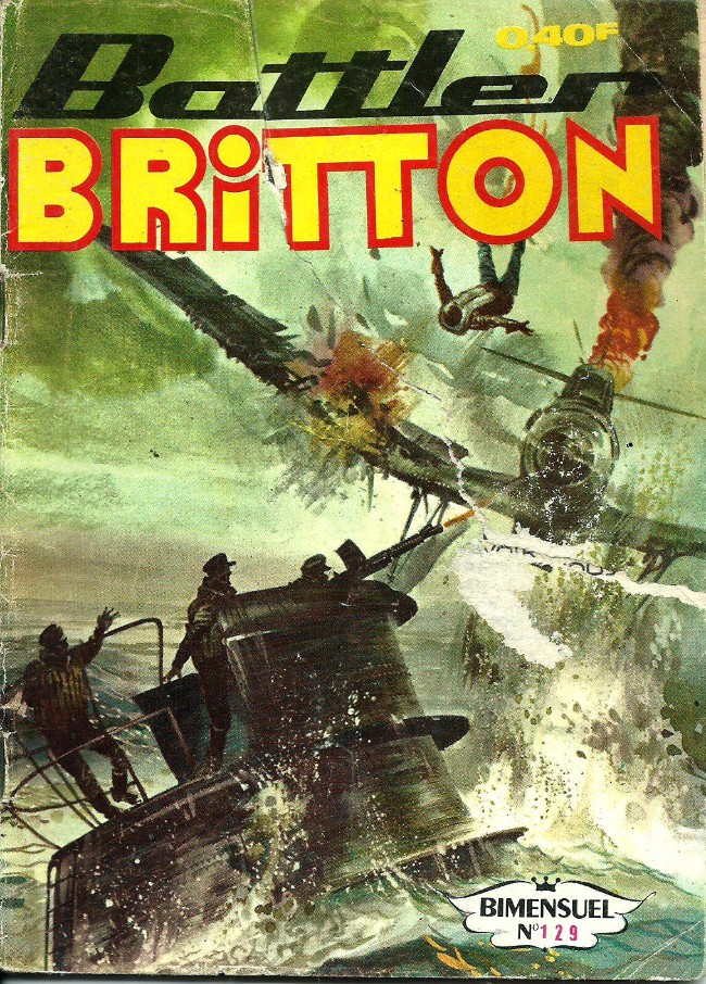Couverture de Battler Britton -129- Menaces