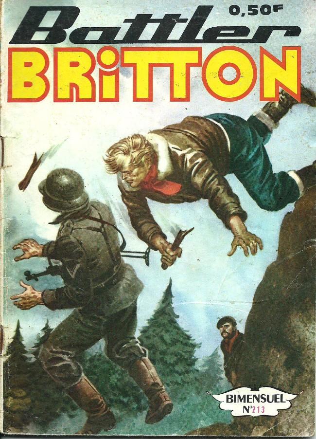 Couverture de Battler Britton -213- Risque de guerre