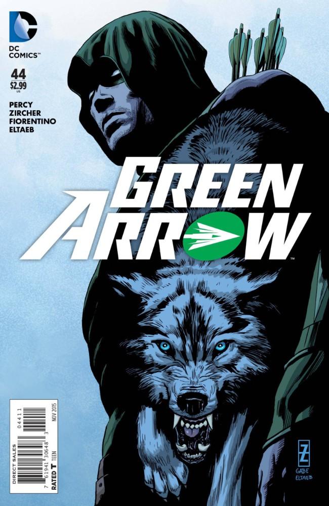 Couverture de Green Arrow (2011) -44- Secret of the Wolf