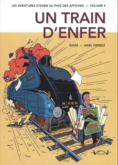 Couverture de (AUT) Exem -4- Un train d'enfer (1999-2002)