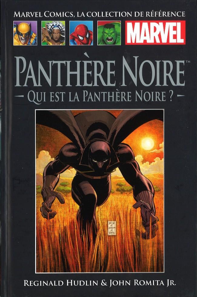 Couverture de Marvel Comics - La collection (Hachette) -5246- Panthère Noire - Qui est la Panthère Noire?
