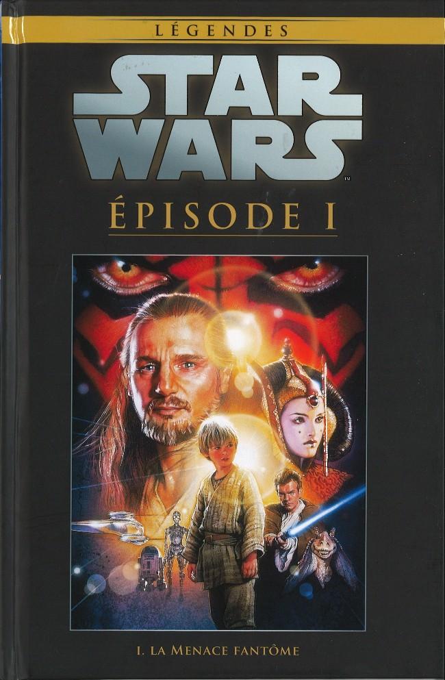 Couverture de Star Wars - Légendes - La Collection (Hachette) -823- Épisode I - La Menace Fantôme
