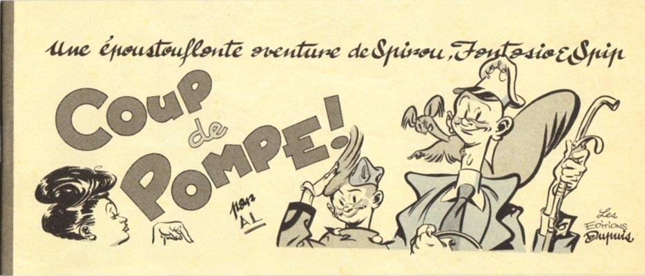 Couverture de Spirou et Fantasio -2- (Divers) -MR4062- Coup de pompe !