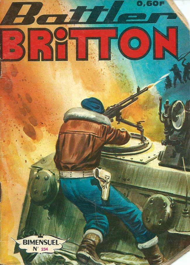 Couverture de Battler Britton -234- L'homme de la jungle