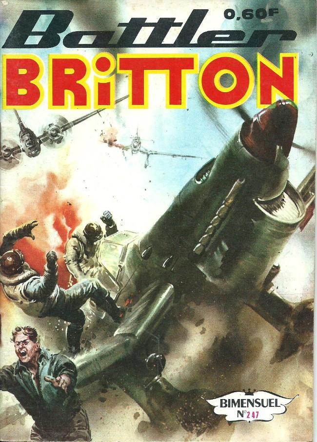 Couverture de Battler Britton -247- L'escadrille maudite