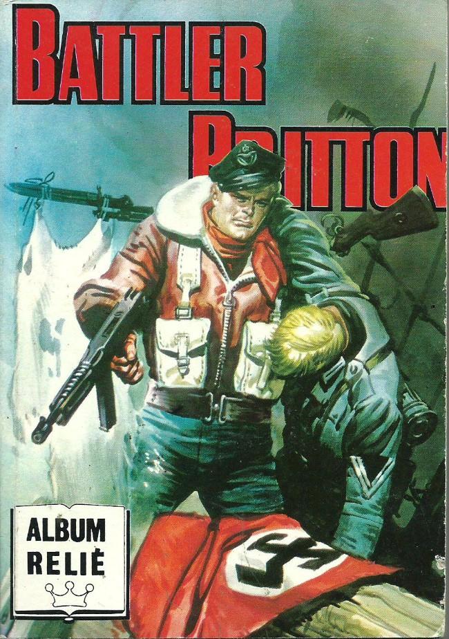 Couverture de Battler Britton -Rec82- Album Relié N°82 (du n°467 au n°470)