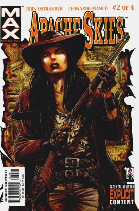Couverture de Apache Skies (Marvel Comics - 2002) -2- Hard Ride